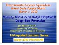 Chasing Mid-Ocean Ridge Eruptions: Deep-Sea Forensics (PDF ...