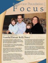 Foundation Focus - Spring 2011 - Ridgeview Medical Center