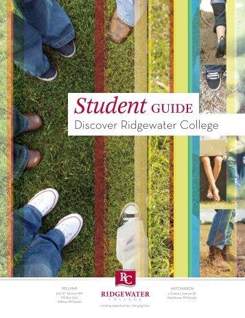 Student Guide 2012.pdf - Ridgewater College