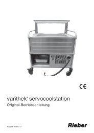 Bedienungsanleitung_servocoolst_de_2008_07_01.pdf - Rieber ...