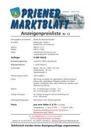 Anzeigenpreisliste ab 2012.qxp - RIEDER Druckservice