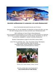 Spezialitäten von der WIESE und aus dem WALD - 4 Sterne Hotel ...