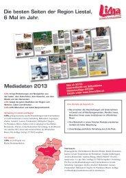 Mediadaten 2013 - Rieder Kommunikation