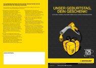 UNSER GEBURTSTAG, DEIN GESCHENK! - Rieger + Ludwig