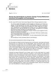 10-14.712.02 Bericht des Gemeinderats - Riehen