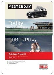 Scarica il Catalogo Prodotti MCE 2012 - Riello