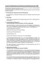 Aus der 10. Stadtratssitzung des Stadtrates der Stadt Rieneck am ...