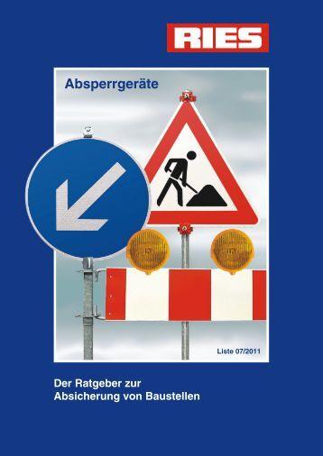 Absperrgeräte - Kurt Ries GmbH