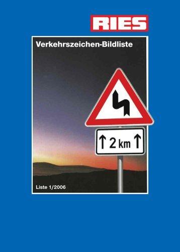 Verkehrszeichen nach StVO - Kurt Ries GmbH