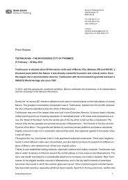 Press Release - Museum Rietberg