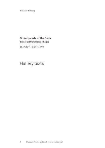 Download PDF - Museum Rietberg