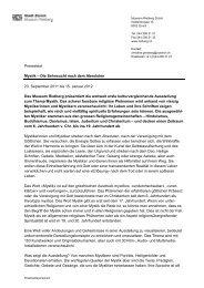 Pressetext Mystik – Die Sehnsucht nach dem ... - Museum Rietberg