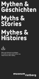 Mythen & Geschichten Myths & Stories Mythes ... - Museum Rietberg