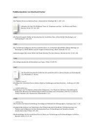 Publikationsliste von Eberhard Fischer - Museum Rietberg