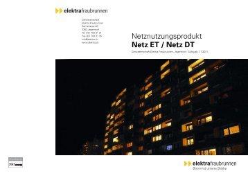 Netz ET / Netz DT - Genossenschaft Elektra, Jegenstorf