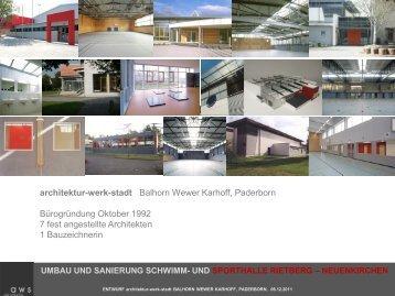 2) Bestandsanalyse - Stadt Rietberg