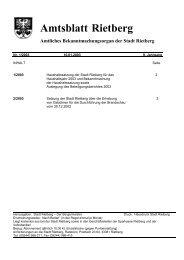 Ausgabe 01/2003 - Stadt Rietberg