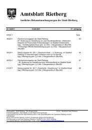 Ausgabe 09/2011 - Stadt Rietberg
