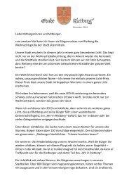 Liebe Mitbürgerinnen und Mitbürger, zum zweiten ... - Stadt Rietberg