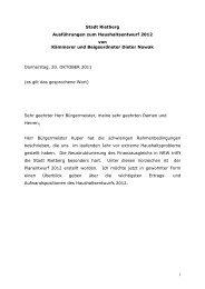 Haushaltsrede BG Nowak 2012 - Stadt Rietberg