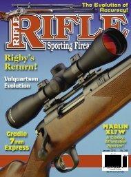 Rifle Magazine - Wolfe Publishing Company
