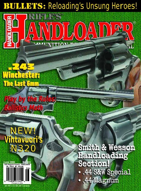 Handloader issue 241 - Wolfe Publishing Company