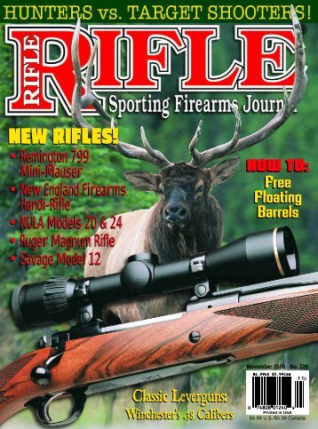 NEW RIFLES! NEW RIFLES! - Wolfe Publishing Company
