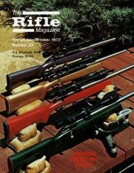Rifle - Wolfe Publishing Company