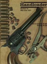 Handloader - Wolfe Publishing Company