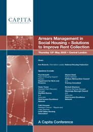 Arrears Management in Social Housing – Solutions to ... - Rightsnet