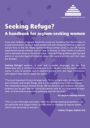 Seeking Refuge? - Rights of Women