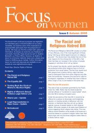 Focus on Women - issue 03 - Rights of Women