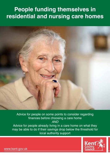 the care of people in a residential setting Overview of assisted living/residential care facilities for the  obtaining medical records and setting up files  most people must pay privately for care.