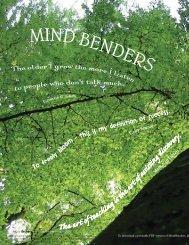 To download a printable PDF version of MindBenders, pl