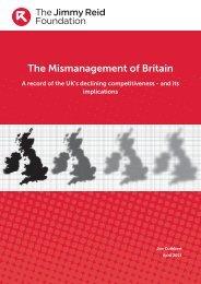 The Mismanagement of Britain - The Reid Foundation