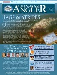 Angler International - May/June 2011 - Dr. Julie Ball's Website