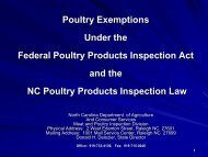 Poultry Exemptions Under the Federal Poultry Products ... - eXtension