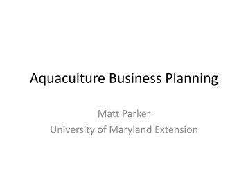 fish farming business plan documents