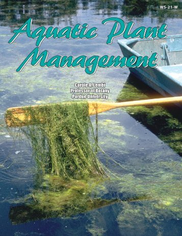 Aquatic Plant Management - Purdue Extension - Purdue University