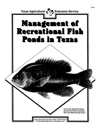 The Use Of Potassium Permanganate In Fish Ponds 1 Edis