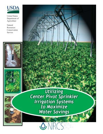 Utilizing Center Pivot Sprinkler Irrigation Systems to ... - eXtension