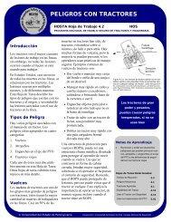 PELIGROS CON TRACTORES - eXtension