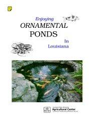Enjoying ornamental ponds in Louisiana - eXtension
