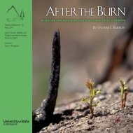 After the Burn - Oregon State University Extension Service