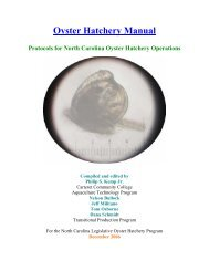 Oyster Hatchery Manual - eXtension