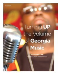 Turning UP the Volume of Georgia Music - Georgia Department of ...
