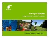 Georgia Tourism - Georgia Department of Economic Development