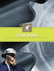 TEAM WORK TEAM WORK - Georgia Department of Economic ...