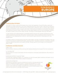 Doing Business in Europe (PDF) - Georgia Department of Economic ...