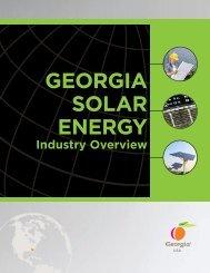 georgia solar energy - Georgia Department of Economic Development